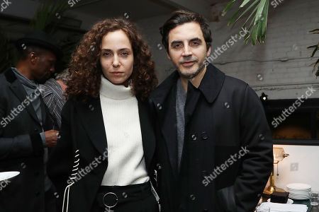 Stock Image of Yigal Azrouel with Guest