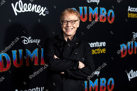 Danny Elfman poses for the photographers as he arrives for the premiere of 'Dumbo' at the El Capitan Theater in Hollywood, California, 11 March 2019. The movie 'Dumbo' will start screening on 29 March 2019.