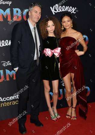 Thandie Newton, Ol Parker, and Nico Parker