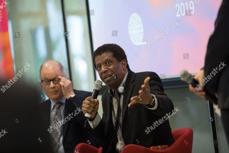 Editorial picture of Dany Laferriere gives a talk at the University of Hong Kong, China - 12 Mar 2019