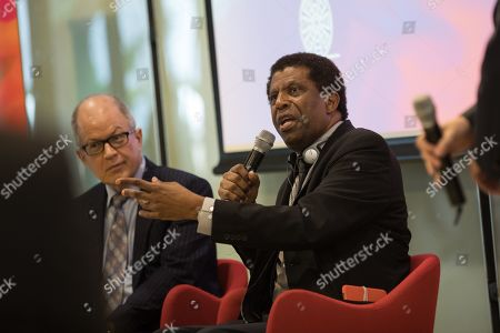 Editorial image of Dany Laferriere gives a talk at the University of Hong Kong, China - 12 Mar 2019