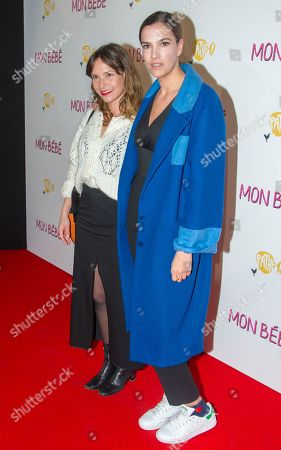 Luana Duchemin and Charlotte Gabris
