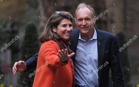 Sir Tim Berners-Lee and Rosemary Leith