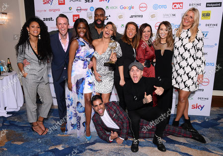 Vick Hope, Graeme Swann, Otlile Mabuse, Chucky Venn, Karen Clifton, Katie Piper, Dr Ranj and Gorka Magquez - Reality Programme - 'Strictly Come Dancing'