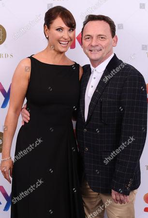 Stock Photo of Emma Barton and Perry Fenwick
