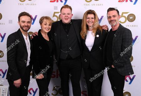 Jack P Shepherd, Sally Dvenor, Colson Smith, Connie Hyde and Daniel Brocklebank