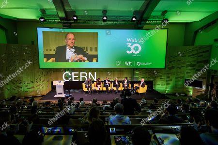 Editorial photo of CERN celebrates 30th anniversary of World Wide Web, Meyrin, Switzerland - 12 Mar 2019