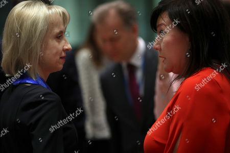 Editorial image of EU Ecofin, Belgium, Belgium - 12 Mar 2019