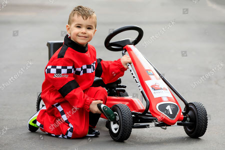 Riley Mannings Stolen Go Kart Leyton Stock Photos (Exclusive
