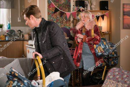 Editorial image of 'Coronation Street' TV Show UK  - 2019
