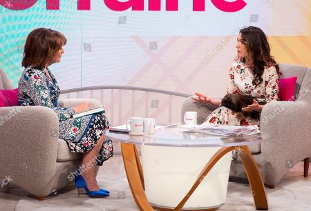 Stock Picture of Lorraine Kelly and Emily Dean