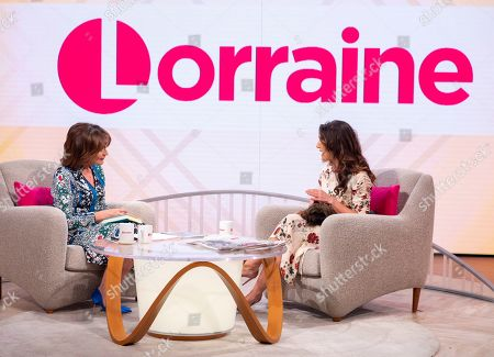 Stock Photo of Lorraine Kelly and Emily Dean