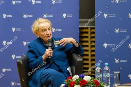 Stock Image of Madeleine Albright