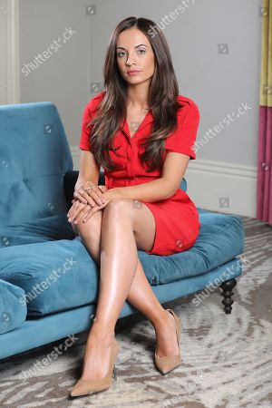 Editorial picture of Stacey Flounders, girlfriend of Adam Johnson, Seaham, UK - 05 Mar 2019
