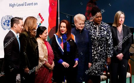 Editorial picture of 'Women in Power' at the United Nations, New York, USA - 12 Mar 2019
