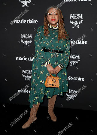 Editorial photo of Marie Claire Change Makers Celebration, Arrivals, Hills Penthouse, Los Angeles, USA - 12 Mar 2019