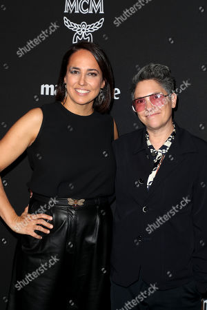 Marie Claire Editor-in-Chief Anne Fulenwider and Jill Soloway