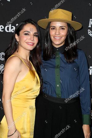 Martha Higareda and Olga Segura