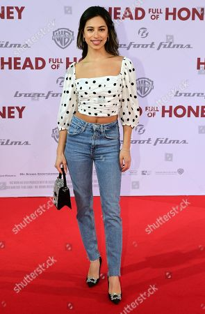 Gizem Emre arrives for the European premiere of 'Head Full of Honey' in Berlin, Germany, 12 March 2019. The movie screens in German theaters from 21 March on.
