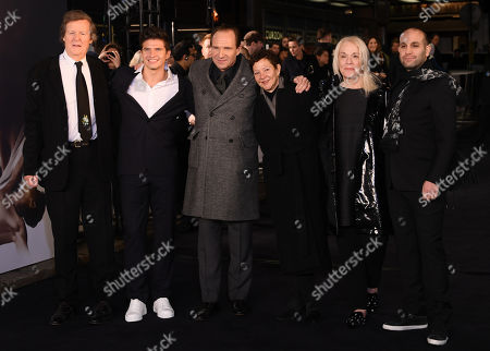 Stock Picture of David Hare, Oleg Ivenbko, Ralph Fiennes, Gabrielle Tana and Ilan Eshkeri