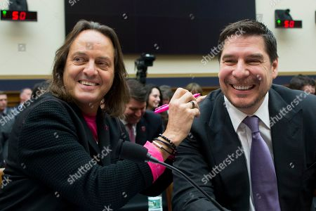 Editorial image of House Judiciary subcommittee hearing on proposed merger between T-Mobile and Sprint, Washington, USA - 12 Mar 2019