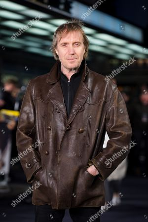 Stock Picture of Rhys Ifans attends the UK premiere of 'The White Crow' at Curzon Mayfair in London, Britain, 12 March 2019. The movie is released in British theaters on 22 March.