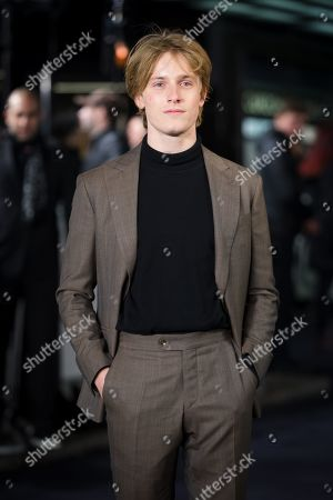 Louis Hofmann attends the UK premiere of 'The White Crow' at Curzon Mayfair in London, Britain, 12 March 2019. The movie is released in British theaters on 22 March.