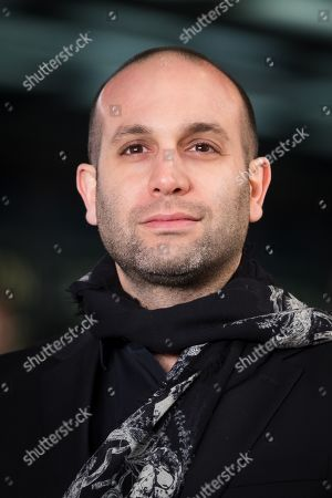 Ilan Eshkeri attends the UK premiere of 'The White Crow' at Curzon Mayfair in London, Britain, 12 March 2019. The movie is released in British theaters on 22 March.