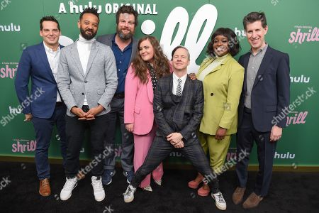 Billy Rosenberg, Ian Owens, Luka Jones, Aidy Bryant, John Cameron Mitchell, Lolly Adefope and Craig Erwich