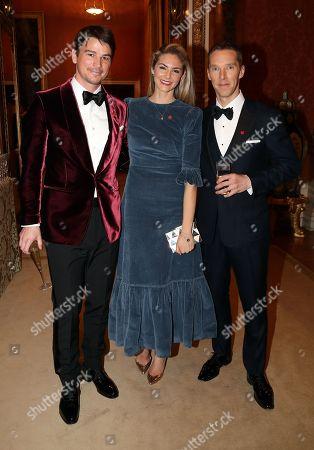 Josh Hartnett, Tamsin Egerton and Benedict Cumberbatch
