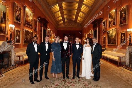 Stock Picture of Chiwetel Ejiofor, Luke Evans, Tamsin Egerton, Josh Hartnett, Benedict Cumberbatch, Amal Clooney and George Clooney