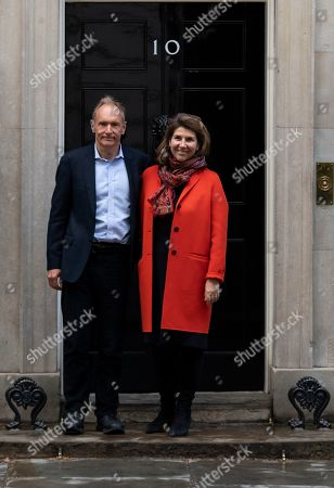 Editorial picture of Sir Tim Berners-Lee visits Downing Street, London, United Kingdom - 12 Mar 2019