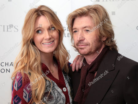Kelly Simpkin and Nicky Clarke