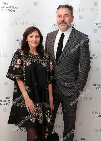 Stock Photo of Natalie Imbruglia and David Walliams