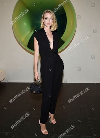 Lindsay Ellingson attends the grand opening of The Times Square Edition hotel, in New York