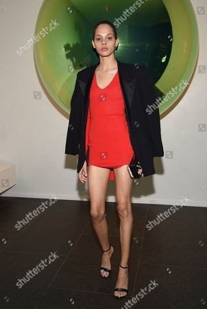 Stock Picture of Hiandra Martinez attends the grand opening of The Times Square Edition hotel, in New York