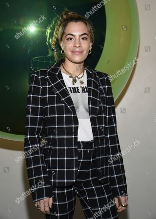 Chelsea Leyland attends the grand opening of The Times Square Edition hotel, in New York