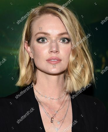 Stock Photo of Lindsay Ellingson attends the grand opening of The Times Square Edition hotel, in New York