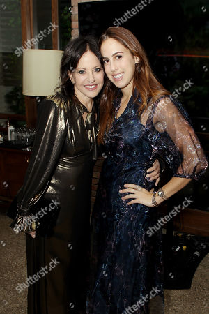 Stock Photo of Jill Stuart with Daughter Chloe Curtis