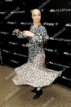 Editorial picture of Jill, Jill Stuart 2019 Ready-to-Wear Launch, New York, USA - 12 Mar 2019