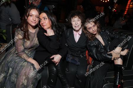 Stock Photo of Gideon Adlon, Pamela Adlon, Marina L Segall, Odessa Adlon