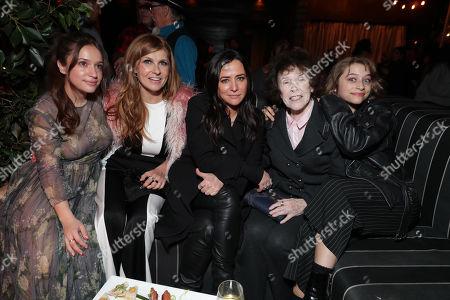 Stock Image of Gideon Adlon, Connie Britton, Pamela Adlon, Marina L Segall, Odessa Adlon