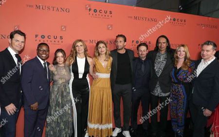 Editorial image of Focus Features 'The Mustang' special film screening, Los Angeles, USA - 12 Mar 2019