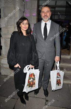 Stock Picture of Natalie Imbruglia and David Walliams