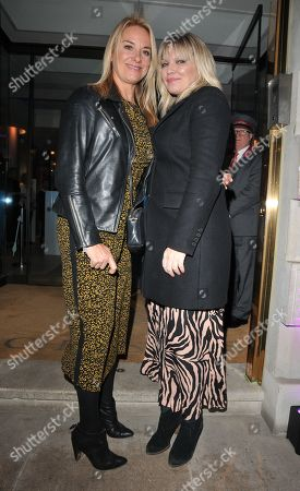 Tamzin Outhwaite and Kate Thornton