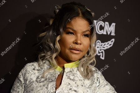 Misa Hylton-Brim arrives at the 2019 Marie Claire Change Makers Celebration on in West Hollywood, Calif