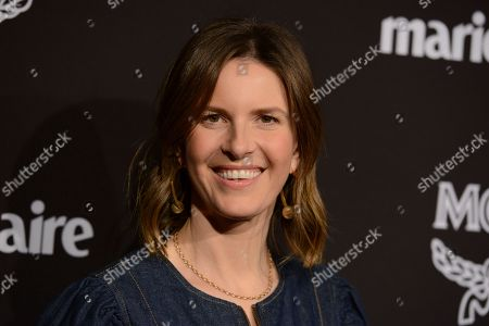 Candace Nelson arrives at the 2019 Marie Claire Change Makers Celebration on in West Hollywood, Calif