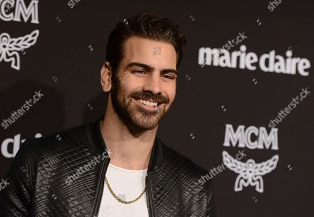 Nyle DiMarco arrives at the 2019 Marie Claire Change Makers Celebration on in West Hollywood, Calif
