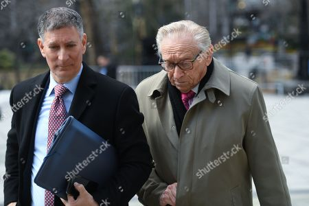 Editorial picture of Larry Silverstein visits City Hall, New York, USA - 12 Mar 2019