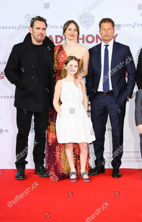 Matt Dillon, Emily Mortimer with daughter May Rose Nivola and Til Schweiger